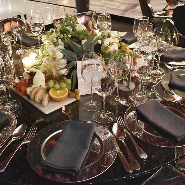 salón para cenas de galas